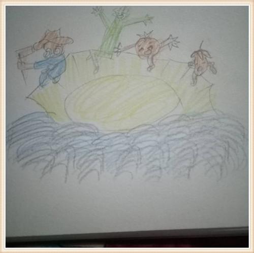 骑着蚂蚁观花