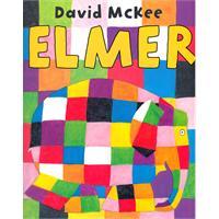 Elmer 花格子大象艾玛