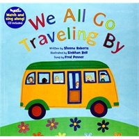 We All Go Traveling By (A Barefoot Singalong)我们都去旅行(书+CD)ISB...