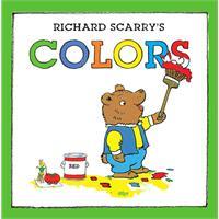 Richard Scarry's Colors斯凯瑞童书-颜色