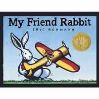 My Friend Rabbit (Board Book) 我的兔子朋友