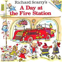 Richard Scarry's A Day at the Fire Station 斯凯瑞童书-消防站的一天