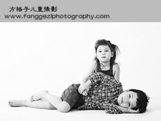 北京方格子儿童摄影