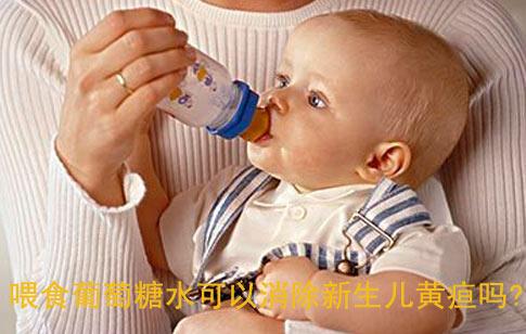 喂食葡萄糖水可以消除新生儿黄疸吗?