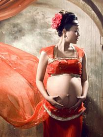 古装孕妇照