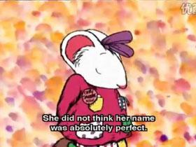 英文绘本《我的名字克丽桑丝美美菊花》尊重接纳孩子的与众不同