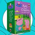 【第1194期试读】《粉红猪小妹 英文原版(全10册)》(0324-0405)