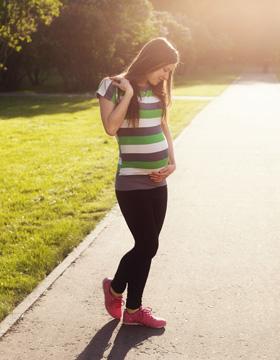 孕期散步有讲究
