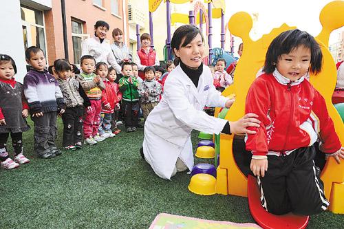 亚健康从宝宝抓起,近日北京丰台首先启动筛查工作