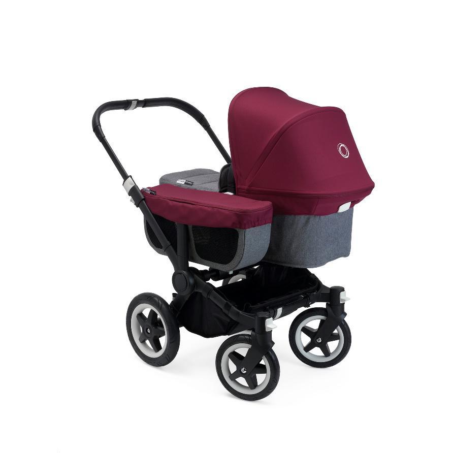 升级版Bugaboo Donkey2诠释双人婴儿推车的新姿态